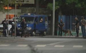 Полиция отърва Лаута от погром след дербито Ботев - Локомотив