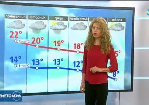 Прогноза за времето (25.09.2017 - обедна емисия)