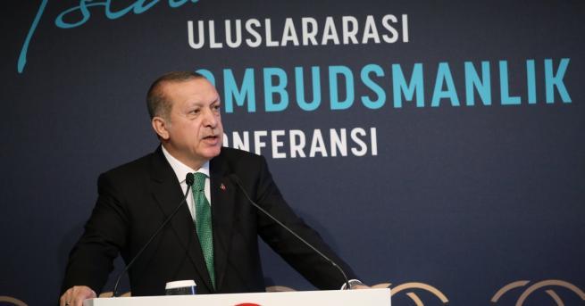 Турският президент Реджеп Ердоган обяви за фалшиви резултатите от референдума