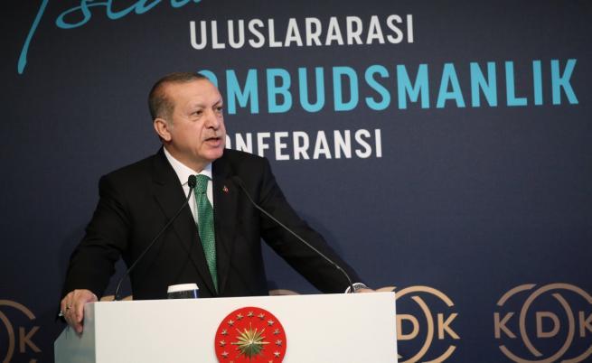Ердоган за референдума в Ирак: Предателство спрямо Турция
