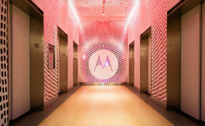 Централата на Motorola в Чикаго, Илинойс, САЩ