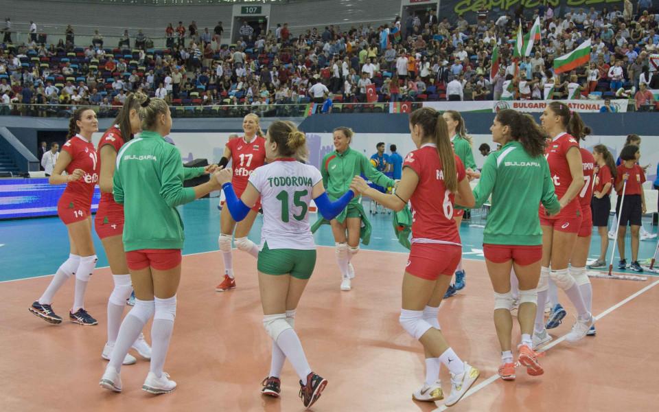 България започва мачовете на истината на Евроволей