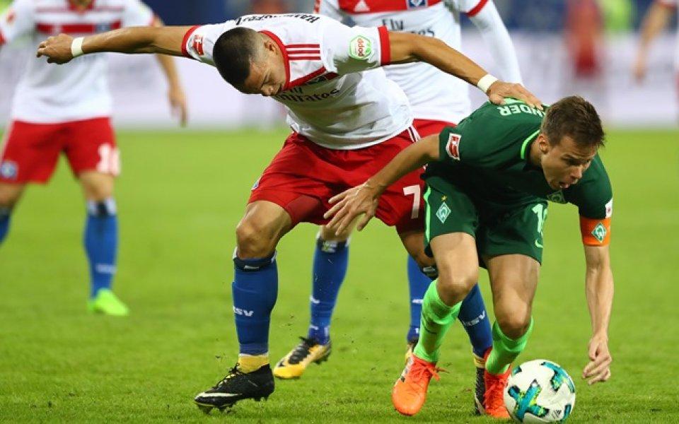 Вердер взе точка, но остава без победа в Германия