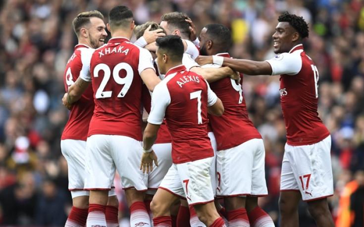 Четвърта поредна победа на Арсенал за годишнина на Венгер
