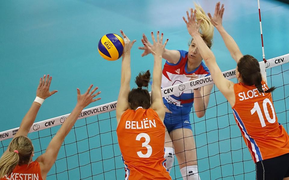Триумф за Сърбия на европейското по волейбол за жени