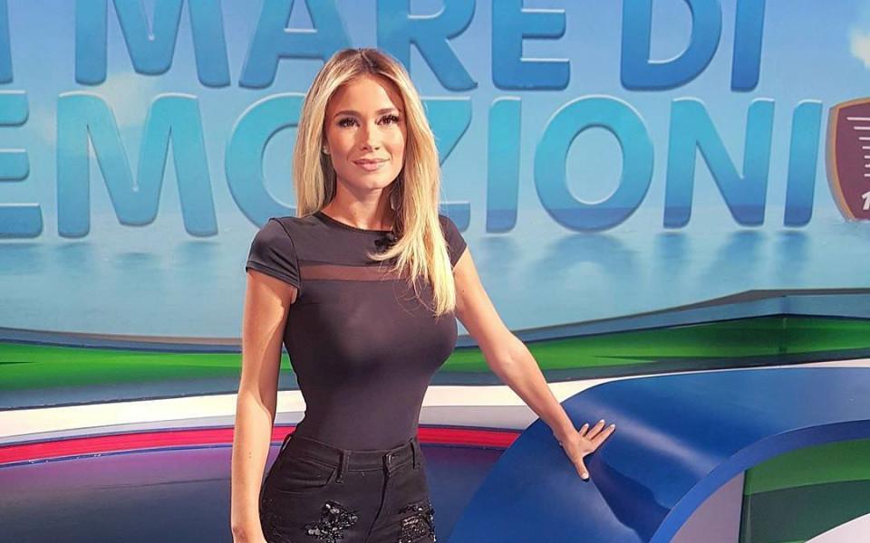 Италианска богиня или най-сексапилната спортна журналистка