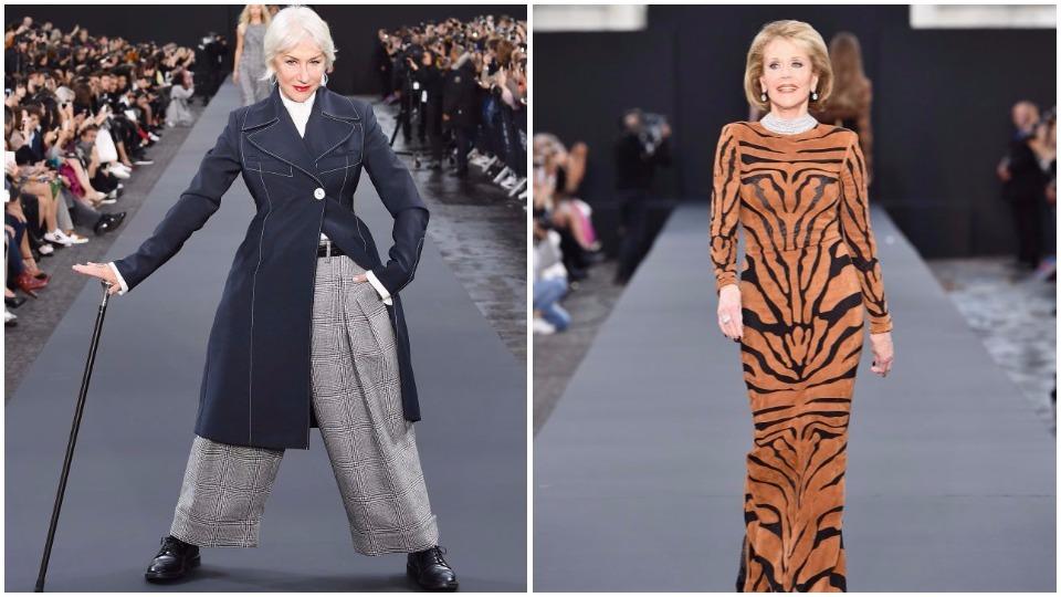 Да си над 70 и да станеш модел - Хелън Мирън и Джейн Фонда го могат!