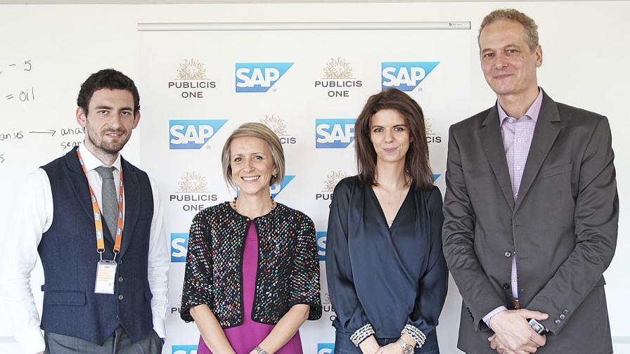 Publicis One и SAP обявиха, че ще си партнират на българския пазар