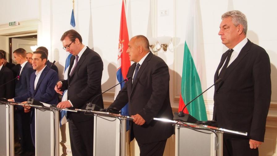 Борисов след Балканската среща: Разбрали сме се да сме равни