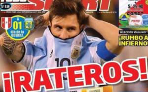 Перуанците видяха заговор между Аржентина и ФИФА срещу тях