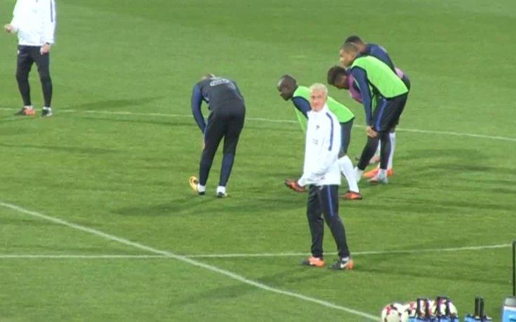 Франция с тренировка преди сблъсъка с България