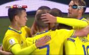 Швеция - Люксембург 8:0 /репортаж/