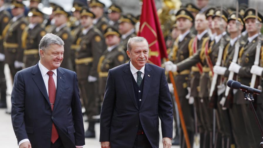 Ердоган: Крим е част от Украйна, ядоса се на САЩ