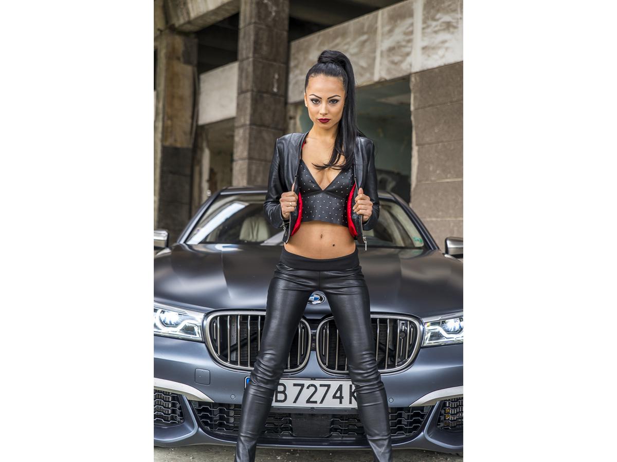 BMW M760Li xDive & Ина Вучкова