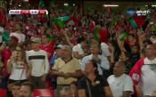 Португалия поведе на Швейцария с куриозен гол