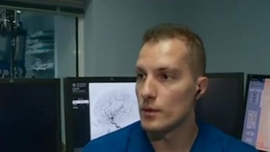 Български лекар награден за уникална операция