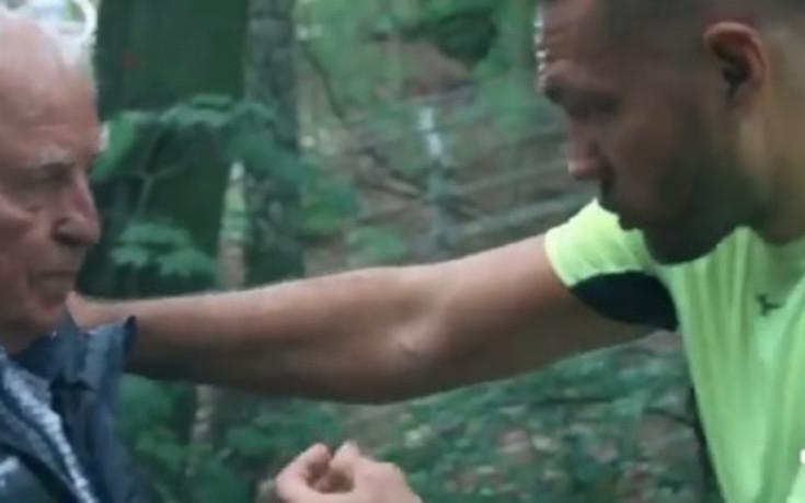 Кубрат тренира яко под зоркия поглед на Ули Вегнер