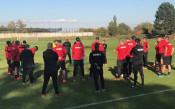 ЦСКА тренира в пълен състав след завръщането на националите