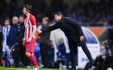 Филипе Луис има договорка с ПСЖ, Атлетико обаче няма да го подарява