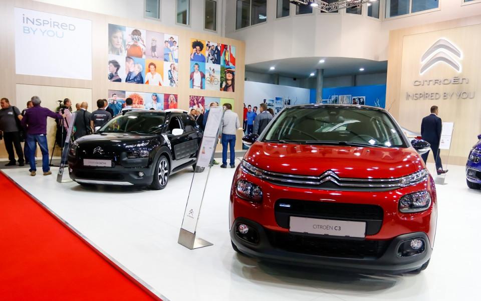 Премиери на Citroen и Kymco откриха Автомобилен Салон София 2017
