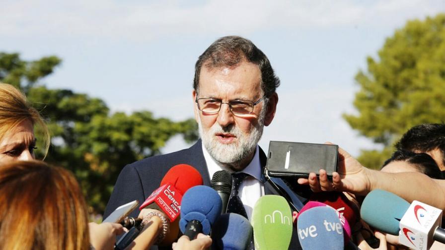 Премиерът на Испания Мариано Рахой