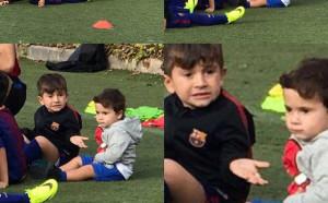 Меси се хвали с малките си футболисти