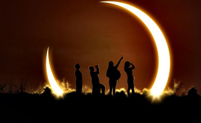 Как няколко древни култури обясняват слънчевите затъмнения
