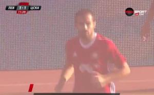 Червена бомба от Тиаго и ЦСКА си върна на Левски