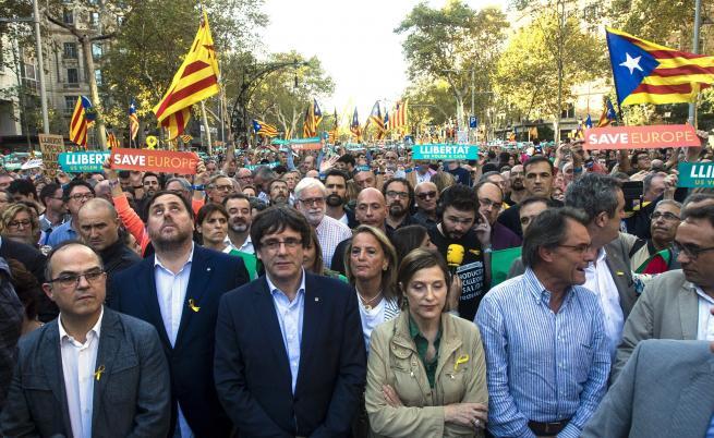 Каталуния ще отговори на испанското правителство в понеделник
