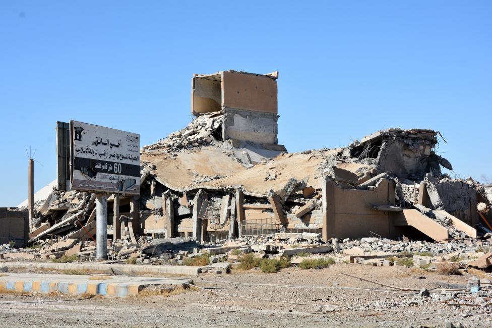 """- Така изглежда сирийският град Ракка след тригодишната власт на """"Ислямска държава"""" и няколкомесечните американски бомбардировки"""