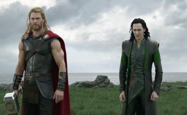 """""""Собственост на Marvel Studios. Разпространител за България: Форум Филм"""""""