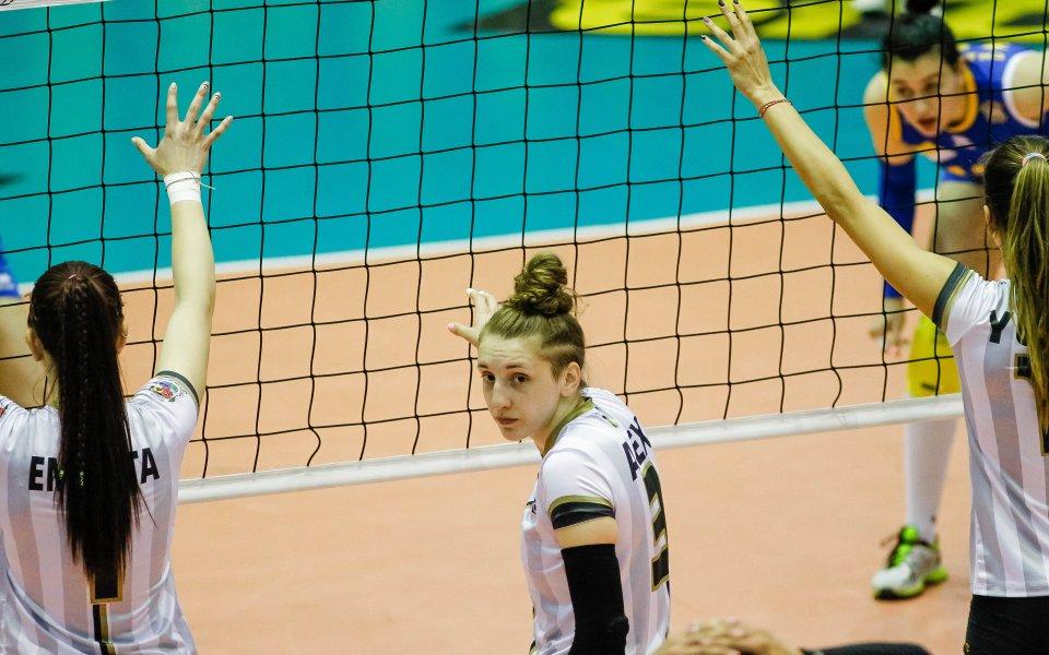 Славия с първи успех във волейболния шампионат за жени