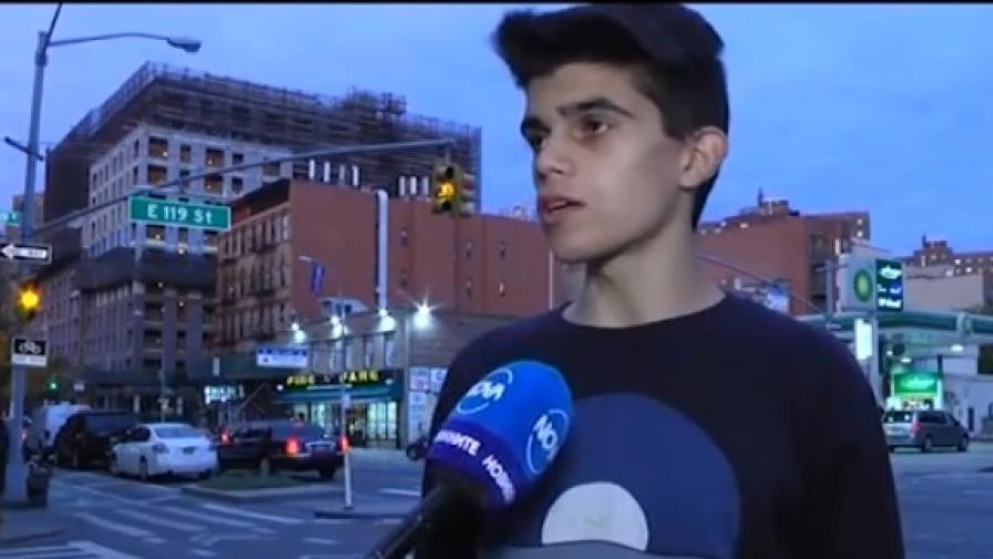 Българчето, видяло терора в Манхатън: Помислих, че е луд човек