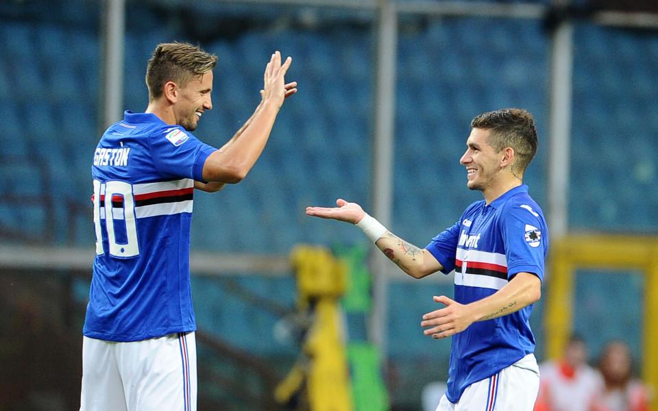 Самп пак превзе Генуа с успех в дербито, Гълъбинов не игра