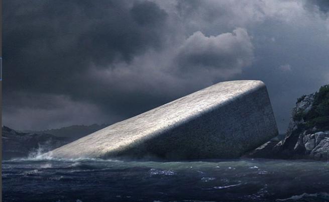 Първи подводен ресторант в Европа отвори врати в Норвегия