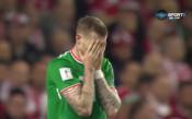 Ирландия - Дания 1:2 /първо полувреме/