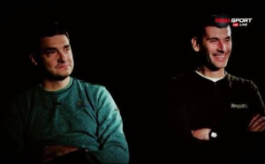 Преди ЦСКА - Левски: Александър Попов vs. Владо Николов