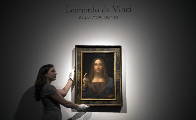 Платното на Да Винчи беше продадено за 450 милиона долара.
