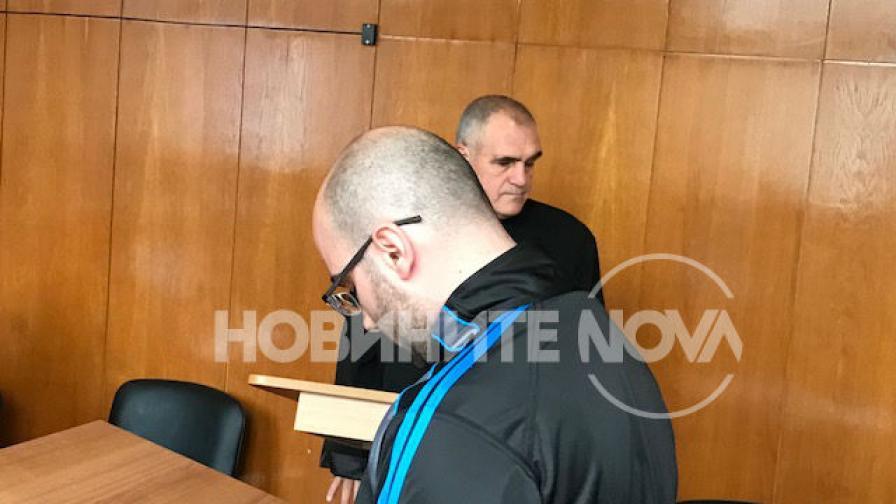 Обвиняемият Милен Стойчев
