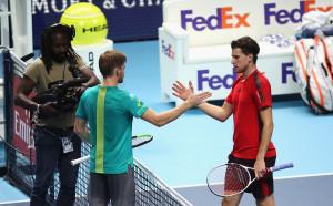 Гофен стигна до полуфинал с Федерер като подгласник на Гришо