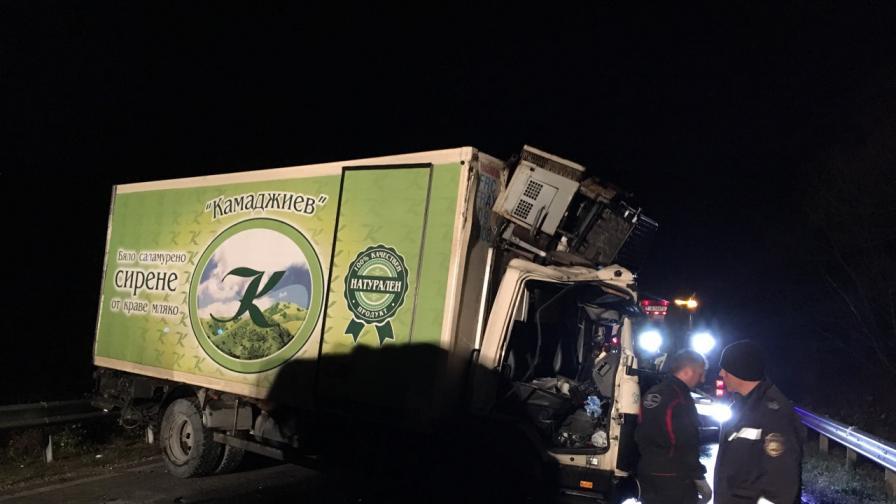 Шофьор в камиона от катастрофата край Микре: Беше ужас