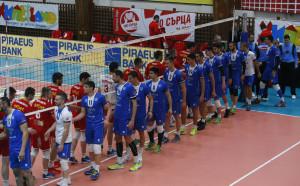 Мигове от волейболното дерби между ЦСКА и Левски