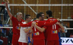 ЦСКА подчини Левски във волейболното дерби