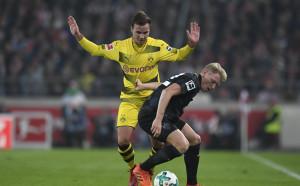 Дортмунд не успя да се справи и с Щутгарт, вече пети мач без успех
