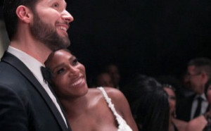Бляскавата церемония на Серина и Алексис
