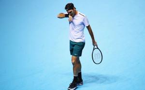 Премазан от Гришо хвърли бомбата и елиминира Федерер