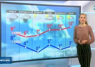 Прогноза за времето (18.11.2017 - централна емисия)
