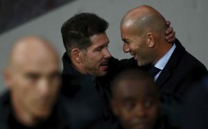Атлетико и Реал играха за Барселона