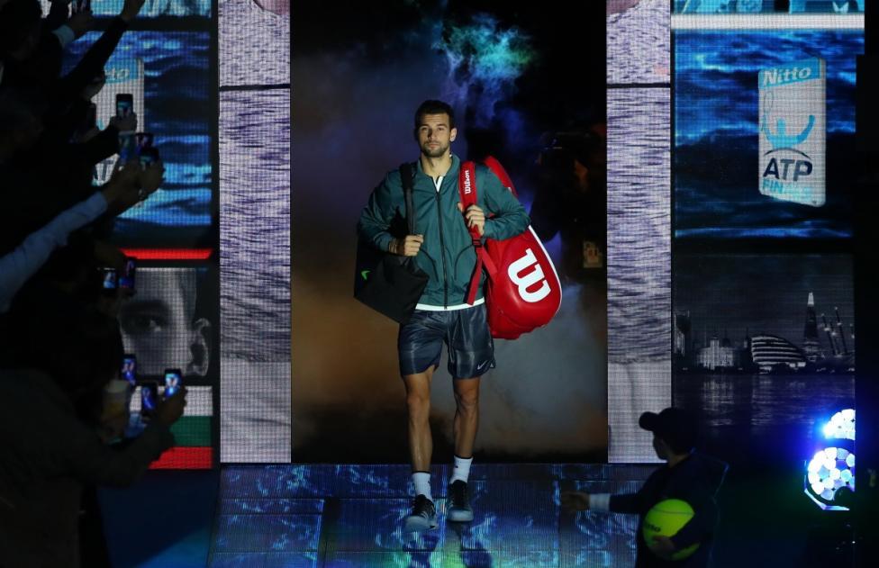 - След като победи Джак Сок с 4:6, 6:0, 6:3 на полуфинала, българският тенисист се класира за финала на заключителния за годината турнир на Мъжката...