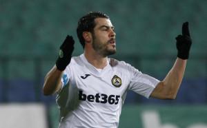 Първият гол на Галин Иванов срещу Септември
